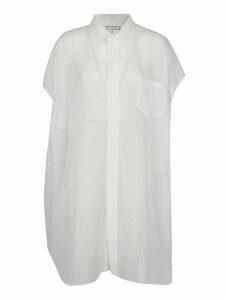 Maison Margiela Short-sleeved Mesh Shirt
