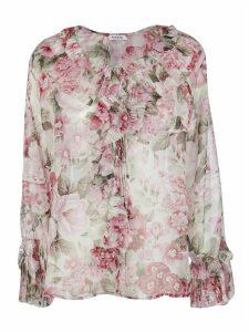 Parosh Floral Print Blouse