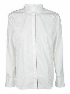 Brunello Cucinelli White Cotton Shirt