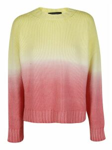 Alanui Yellow And Pink Wool Jumper