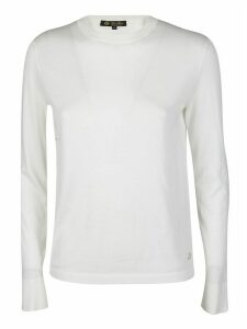 Loro Piana White Cotton-silk Blend Jumper