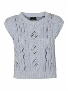 Ermanno Scervino Knitted Tank Top
