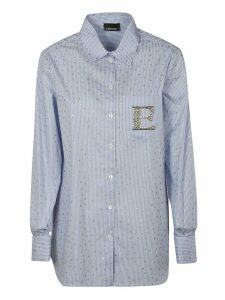 Ermanno Scervino Stripe Embellished Shirt