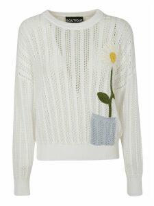 Moschino Flower Knitted Jumper