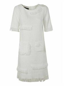 Moschino Fringe Detailed Dress