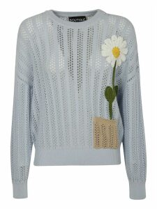 Moschino Flower Knitted Jumper