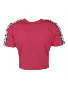Chiara Ferragni Tape Id Crop T-shirt