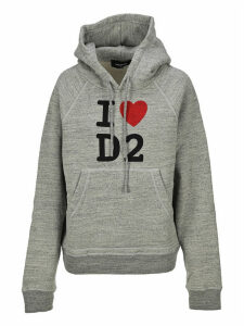 Dsquared2 D Squared I Love D2 Hooded Sweatshirt