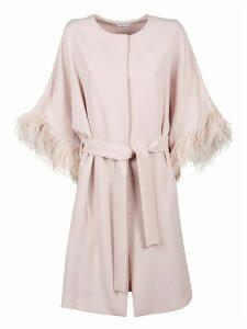 Parosh Panters Long Belted Coat