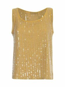 TwinSet Top Paillettes
