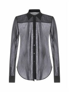 Jil Sander Lightweight Stretch Tulle Shirt