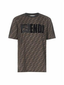 Fendi Ff All Over Short Sleeve T-shirt