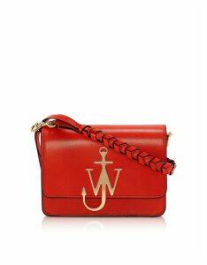 Jw Anderson Anchor Logo Bag W/braided Strap