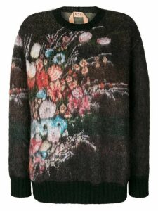 Nº21 floral jumper - Multicolour