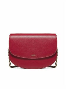 A.P.C. Clutch On Chain Gineve Shoulder Bag