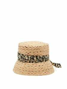 House Of Lafayette - Biba Straw Bucket Hat - Womens - Beige