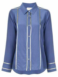Nicole Miller boyfriend shirt - Blue