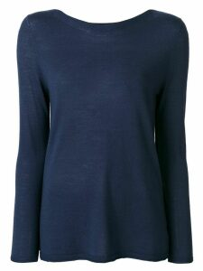Sottomettimi long sleeve top - Blue