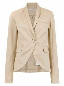 Gloria Coelho smoking blazer - NEUTRALS