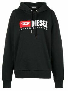 Diesel Denim Vision logo hoodie - Black