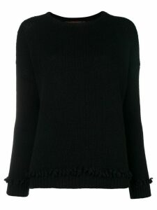 Incentive! Cashmere cashmere chunky knit jumper - Black