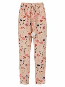 Martha Medeiros Sara printed trousers - PINK