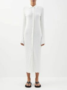 Petar Petrov - Kiena Cutout-back Jersey Sweater - Womens - Light Pink