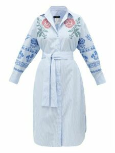 Weekend Max Mara - Giga Dress - Womens - Blue Multi