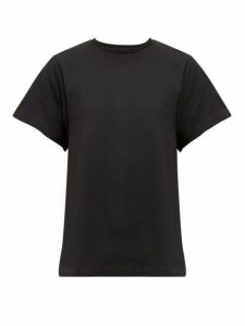 Totême - Pemba A-line Organic-cotton T-shirt - Womens - Black