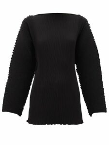 Totême - Azores Pleated Top - Womens - Black