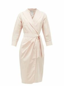 Max Mara - Calia Shirtdress - Womens - Light Pink