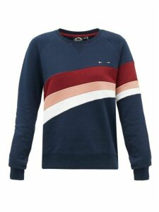 The Upside - Bondi Loopback Cotton-jersey Sweatshirt - Womens - Navy Multi