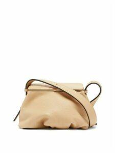 Lutz Morris - Bates Small Grained-leather Shoulder Bag - Womens - Beige