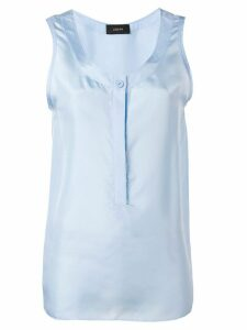 Joseph scoop neck vest top - Blue