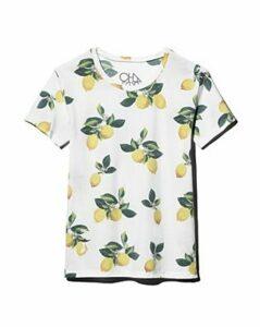 Chaser Lemon-Print Short-Sleeve T-Shirt