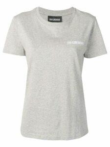 Han Kjøbenhavn logo T-shirt - Grey