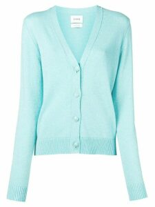 Barrie long-sleeve fitted cardigan - Blue
