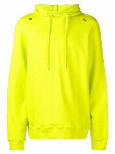 Zilver organic cotton hoodie - LIME GREEN