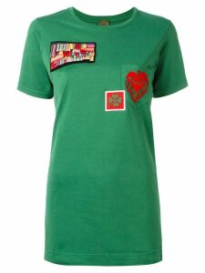Mr & Mrs Italy multipatch T-shirt - Green