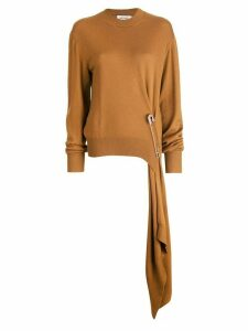 Monse loose knit jumper - Brown