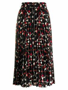 RedValentino arrow print skirt - Black