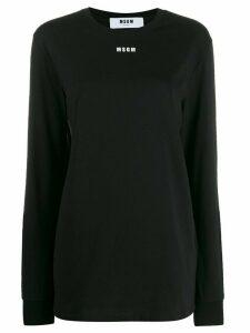 MSGM logo sweatshirt - Black