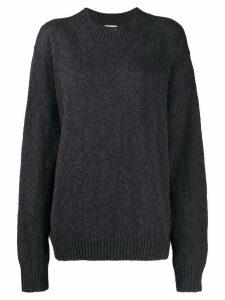 6397 knitted jumper - NAVY