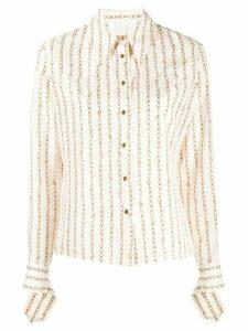 Chloé chain-print shirt - White