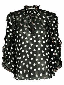 Alice+Olivia Julius tunic top - Black