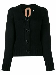 Nº21 knitted cardigan - Black