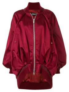 Undercover oversized bomber jacket - Red