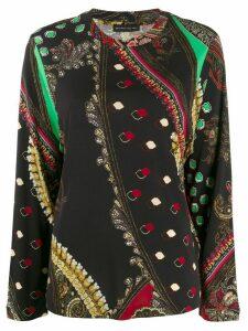 Etro paisley print blouse - Black