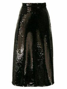 Co wide-leg trousers - Black