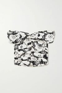 MadeWorn - Guns N' Roses Distressed Printed Cotton-blend Sweatshirt - Black